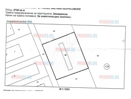 7: Plot of land near Slivo Pole - 2726 sq m and left foundations of a building 257 sq m, Slivo pole, Ruse