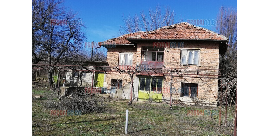 A house in the village of Piperkovo